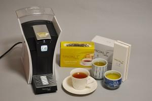 ネスレ日本の「スペシャル.T My T.(スペシャルティー マイ ティー) ST9662P.62」。美味しいお茶がボタン一つで抽出できます