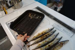 魚を焼いたあと、3分ほどで皿が冷えるので、すぐに洗えるのも便利でした